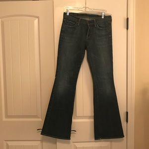 EUC COH Ingrid #002 Stretch Low waist flair 28